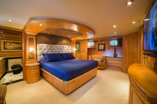 Motor yacht LADY LEX - Master suite