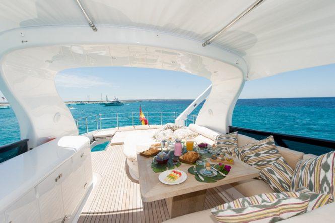 Motor yacht LEX - Sundeck