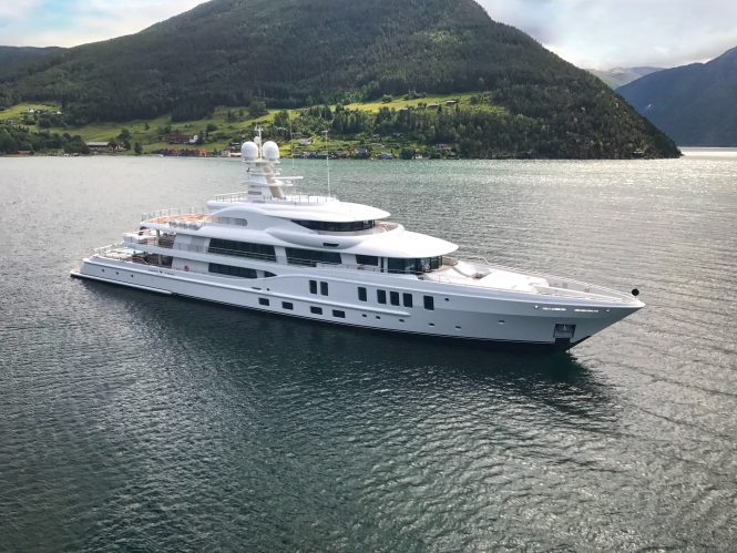 Motor yacht NEW SECRET from Amels will be attending the Monaco Yacht Show