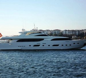 Charter 39m/127ft superyacht Panfeliss in the stunning Eastern Mediterranean