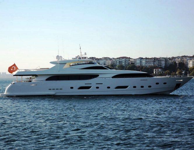 Motor yacht PANFELISS - Built by Mengi-Yay Shipyard