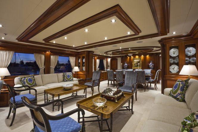 Motor yacht PENNY MAE - Main salon