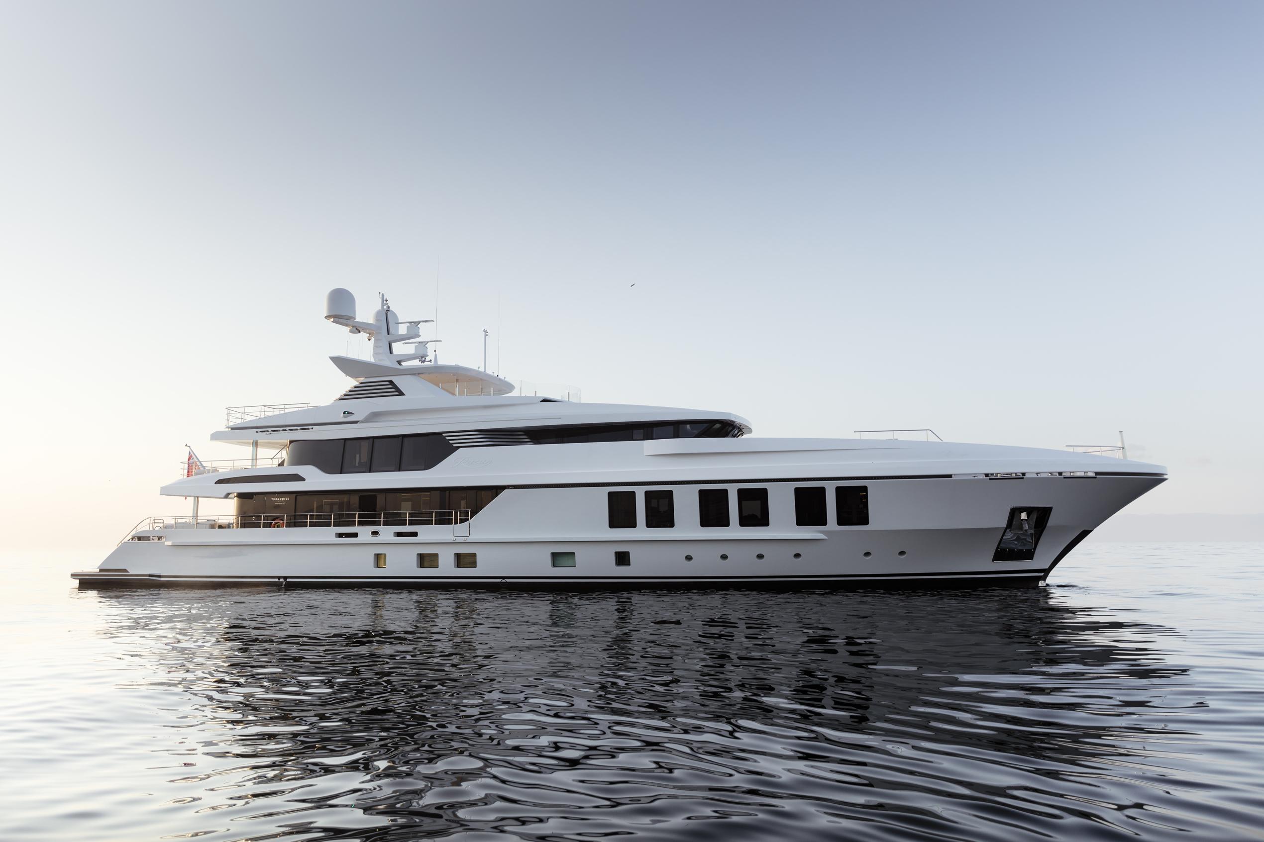 Motor yacht RAZAN from Turquoise Yachts. Photo credit Guillaume Plisson