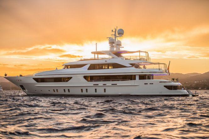 Motor yacht SCORPION - Built by Sanlorenzo