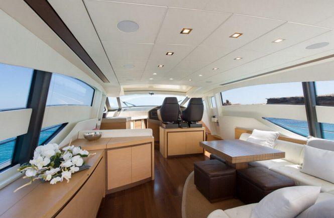 Motor yacht SHALIMAR - Salon