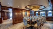 Motor yacht SOVEREIGN - Formal dining room