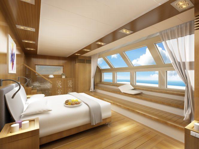 NAUCRATES 85 - Master suite interior