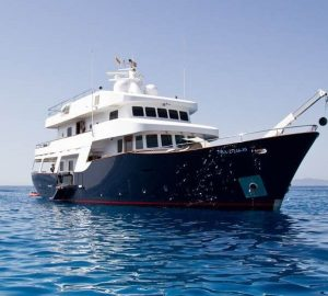 Special offer: Charter classic superyacht SEMAYA with discount in the Balearic Islands