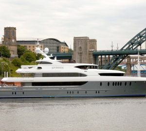 Superyacht Sovereign ready for Caribbean and Bahamas charters this winter