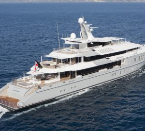 Charter M/Y Mogambo in the Maldives and to the Abu Dhabi Grand Prix