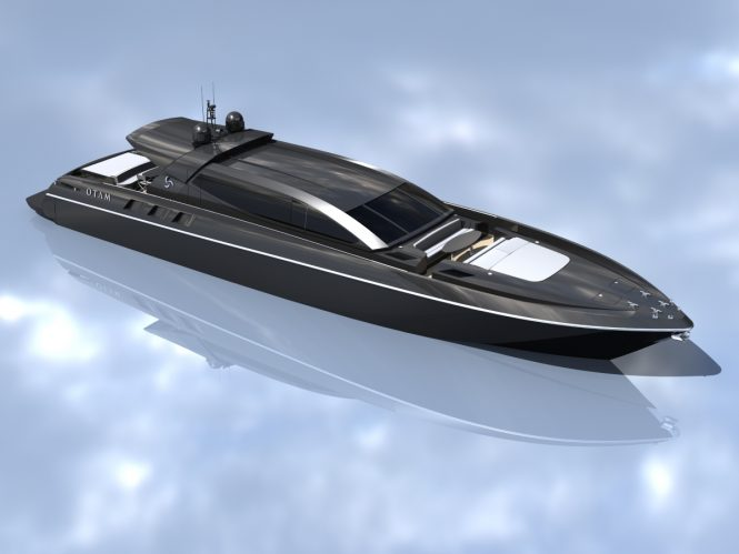 Otam superyacht concept 100 HT- Designed by Umberto Tagliavini