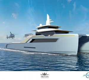 Adventure support yacht 'Project Echo' unveiled