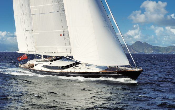 Sailing yacht DRUMBEAT (ex.SALPERTON) - Built by Alloy Yachts