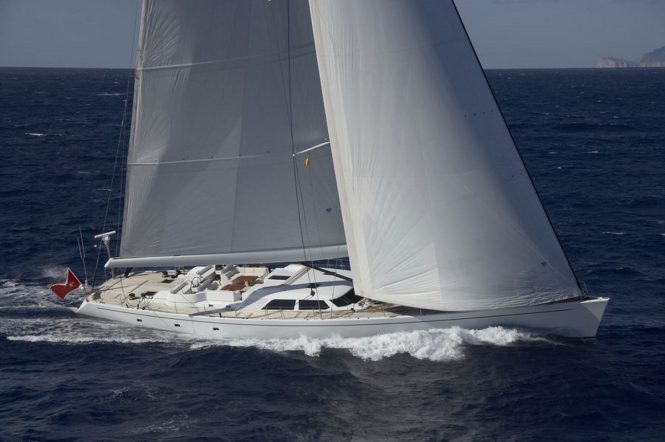 Sailing yacht NEPHELE - A McMullen & Wing superyacht
