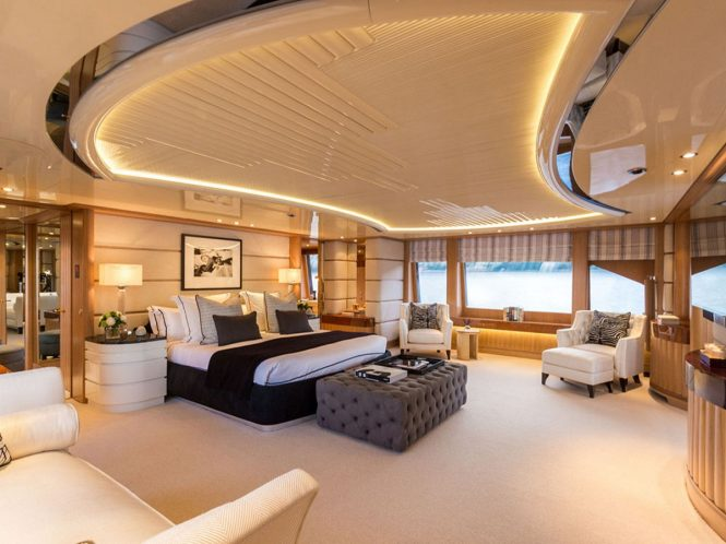 Superyacht AIR - Master suite