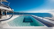 Superyacht CLOUD 9 - Main deck pool