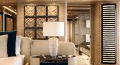 Superyacht CLOUD 9 - Owner's suite detailing
