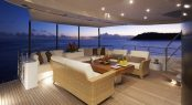 Superyacht Destiny - Main aft deck
