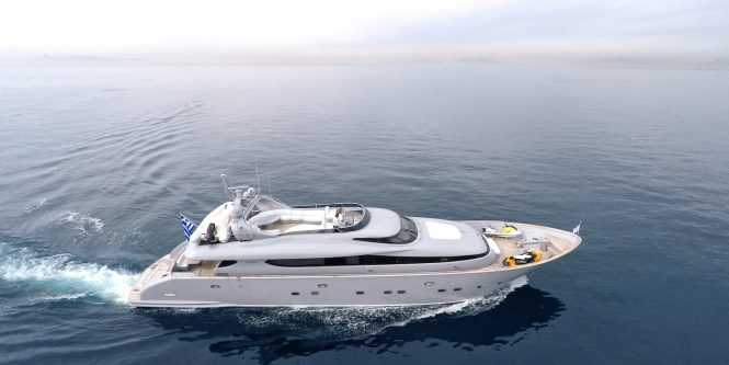 Superyacht IF - Built by Maiora