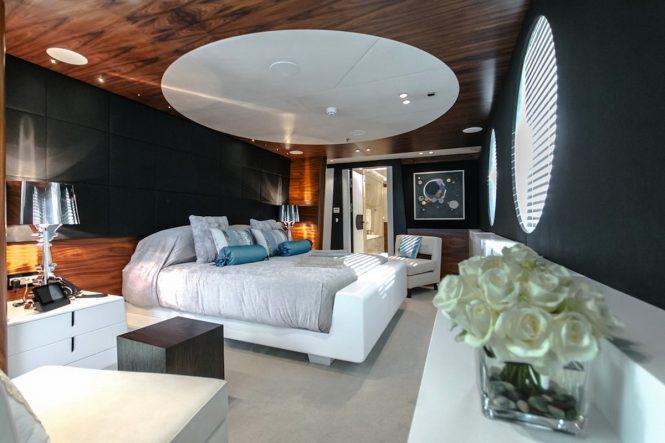 Superyacht KATINA - Master suite