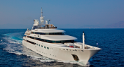 Superyacht O'MEGA - Built by Mitsubishi