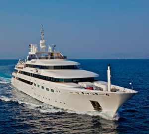 Special offer: Reduced Mediterranean rates for grand luxury charter yacht O'mega