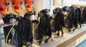 Superyacht SAMAYA - Scuba diving equipment