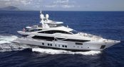 Superyacht WILLOW - Built by Benetti