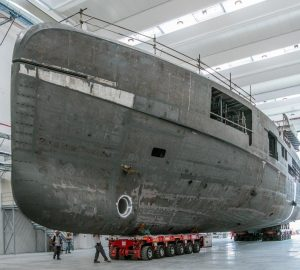 In build: 62m CRN Hull 137