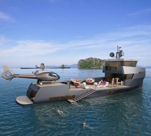 CNC and Green Yachts collaborate on Naucrates 85 project