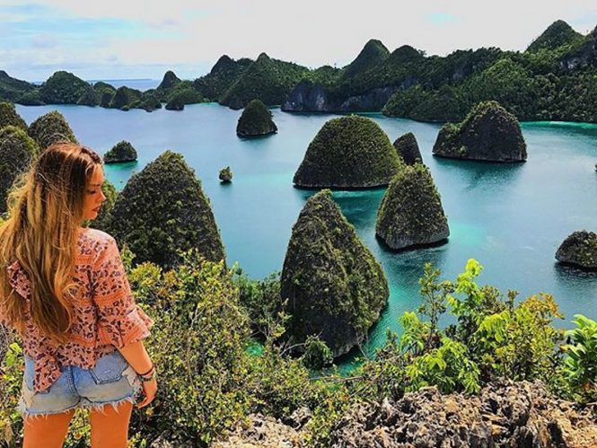 Views on Raja Ampat. Image credit Ministry of Tourism, Indonesia