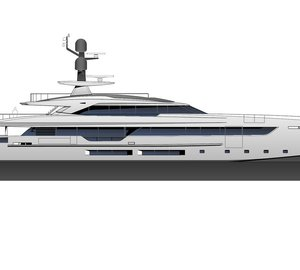 50m hybrid yacht Project Elettra in build with Tankoa Yachts