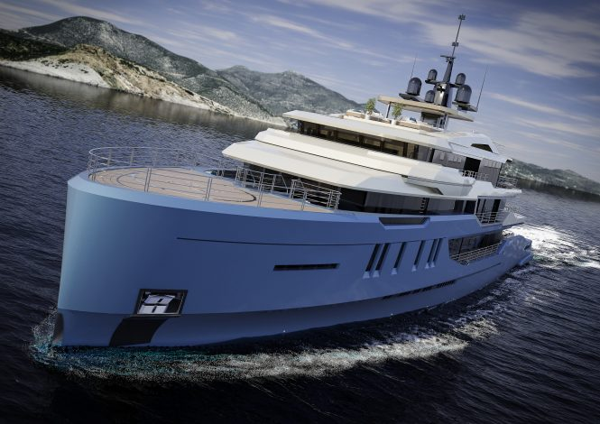 68m/223ft luxury yacht DAY'S