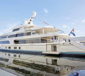Feadship superyacht Samaya spotted on sea trials