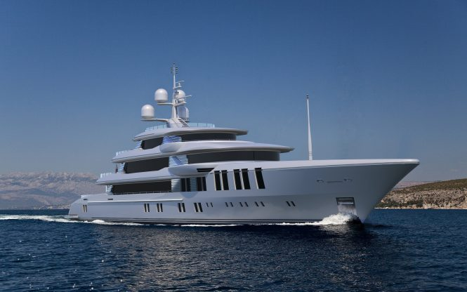74m luxury yacht from Turquoise Yachts