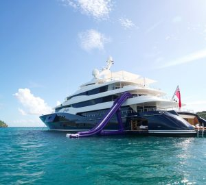 Art deco delight superyacht Amaryllis for charter in the Bahamas & Caribbean