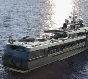 The Maverick 55 explorer yacht concept from Rossinavi