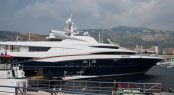 Anastasia by Oceanco on display at the 2017 MYS
