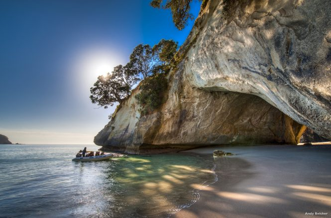 Cathedral Cove, Coromandel. Image credit Legend Photography
