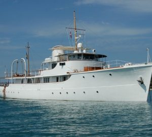 Charter classic superyacht Calisto in exquisite Southeast Asia
