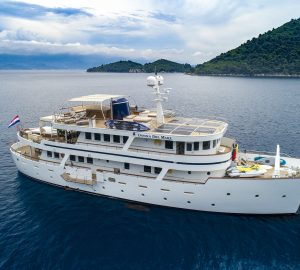 Take 18 guests on a luxury charter in Croatia with motor yacht Donna Del Mare
