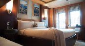 Double guest cabin with pullman bunks aboard ANASTASIA - MYS 2017