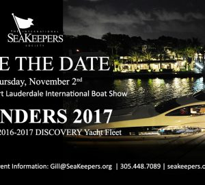 International SeaKeepers Society to host Founders Event during FLIBS