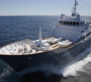 Special offer: 9 days for 7 when chartering M/Y Axantha II in the Mediterranean