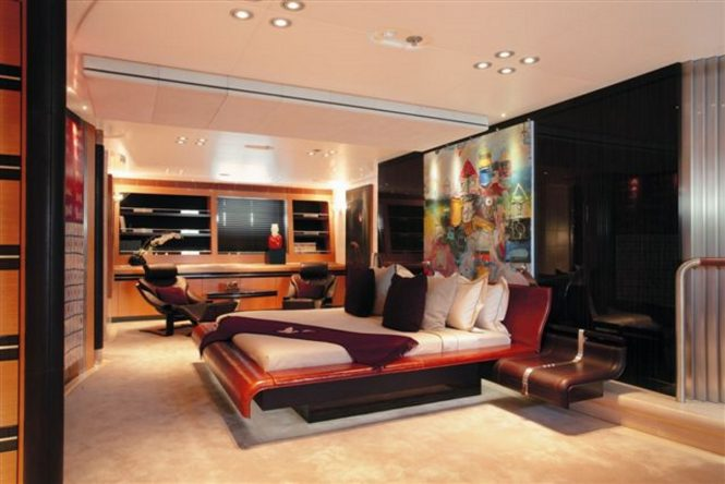 Luxury yacht MALTESE FALCON - Master suite