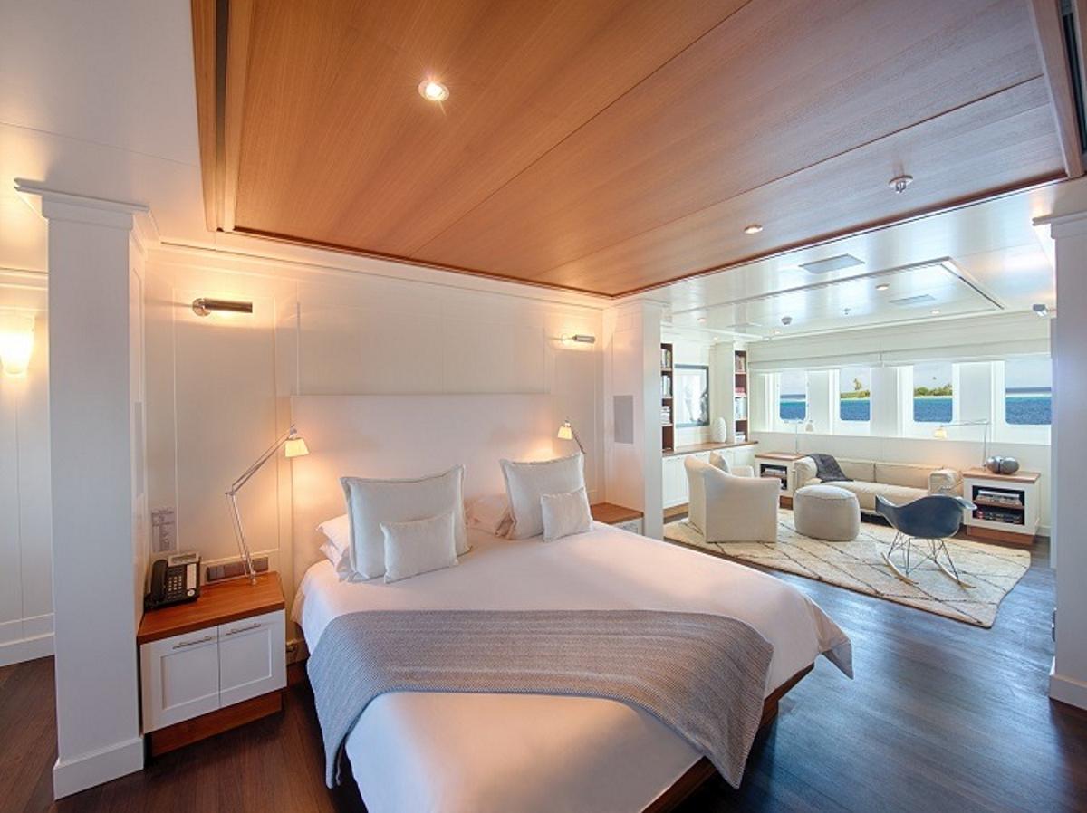 charter luxury yacht senses among the exotic islands of
