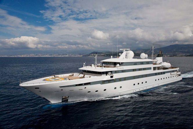 Mega yacht LAUREN L - Built by Cassens-Werft