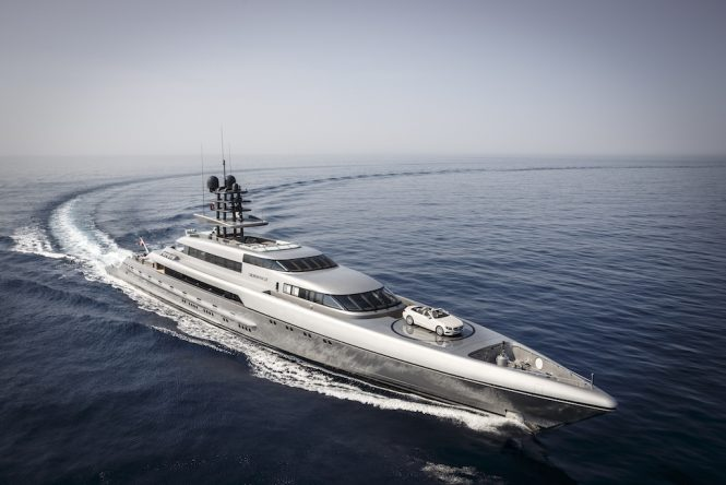 Motor Yacht SILVER FAST (ex.SUVRETTA) - Built by Silver Yachts