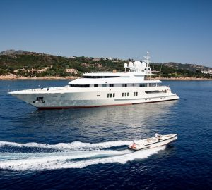 Charter M/Y Coral Ocean in the Mediterranean or Caribbean and Bahamas