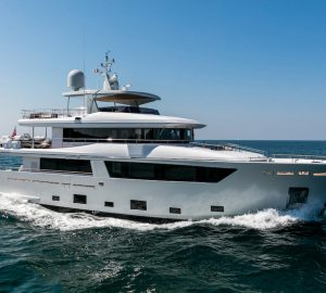 Charter award-winning superyacht Narvalo in the Caribbean